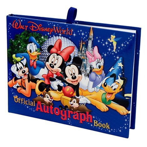 - Walt Disney World Exclusive Official Autograph Book