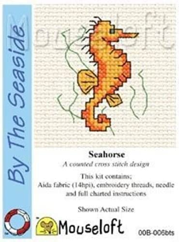 Mouseloft Mini Cross Stitch Kit By the Seaside Collection Yacht Race