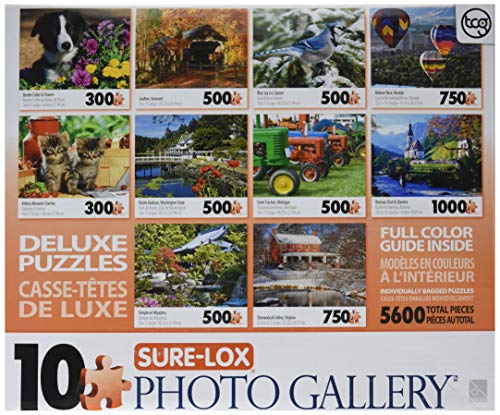(George Sure-Lox Photo Gallery 10 Jigsaw Puzzle Pack)