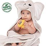 ACEHOOD Baby Towel Organic Cotton Hooded Bath Towel...