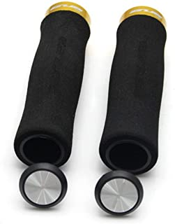 JullyeleESgant Diseño ergonómico Antideslizante Manillar de Bicicleta Agarre Cómodo Espuma Suave Ciclismo Manillares Puños Accesorios para Bicicletas