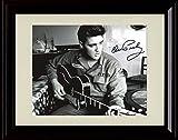 Framed Elvis Presley Autograph Replica Print