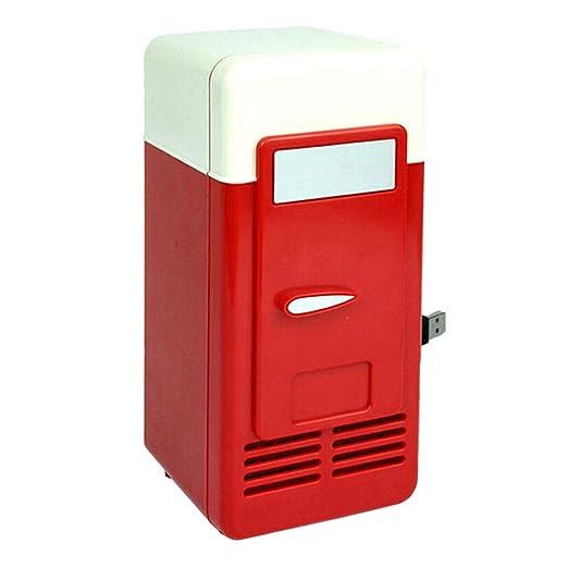 REFURBISHHOUSE USB Nevera Congelador Envío Directo Frío USB Nevera ...