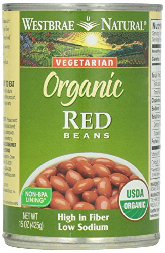 Westbrae Natural, Vegetarian Organic, Red Beans, 15 oz