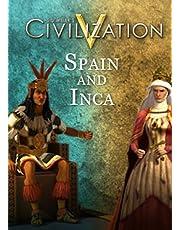 Sid Meier's Civilization V : Pack Double Civilisation et Scénario - Espagne et Inca [Code jeu]