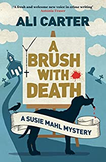 Book Cover: A Brush with Death: A Susie Mahl Mystery