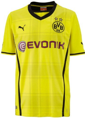 Puma Dortmund BVB 2013/2014 Home Replica Jersey - Youth Small