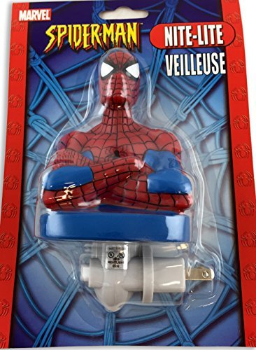 Marvel Spiderman Figural Night Light - Figural Light