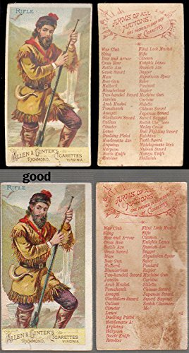 1887 Allen & Ginter N3 Arms of all Nations (Non-Sports) card#39 rifle of the Grade Excellent to Excellent Mint ()