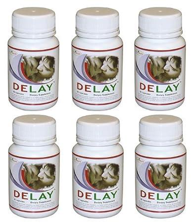 Premature ejaculation control pills