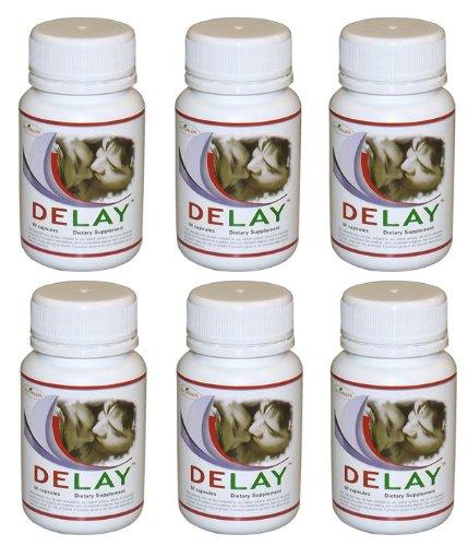 Retard pilules pour l'éjaculation précoce - PE - 6 Bouteilles - 360 comprimés - Contrôler l'éjaculation précoce avec Maximum Pills Retard Force