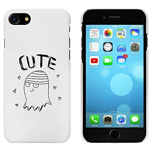 Blanc 'Mignon Fantôme' étui / housse pour iPhone 7 (MC00078662)
