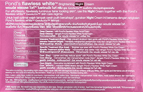 Pond's Flawless White Brightening Night Cream 50 grams