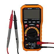 uxcell TRMS Digital Multimeter - Auto Ranging, Voltage, Current, Resistance, Capacitance, Frequency, Temperature, w/USB interface