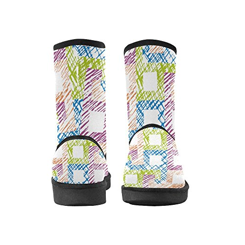 12 Size Doodle Boots Tribal Womens Abstract Color13 5 Pattern Starts Colorful Ladies Classic 5 Snow InterestPrint Print 1xHwF7SZSq