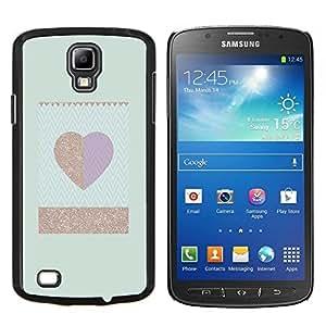 Stuss Case / Funda Carcasa protectora - El oro del trullo del corazón minimalista Limpio - Samsung Galaxy S4 Active i9295