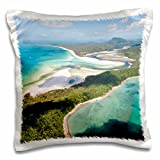 Danita Delimont - Coastlines - Hill inlet Whitsunday Islands, Queensland, Australia - 16x16 inch Pillow Case (pc_226218_1)