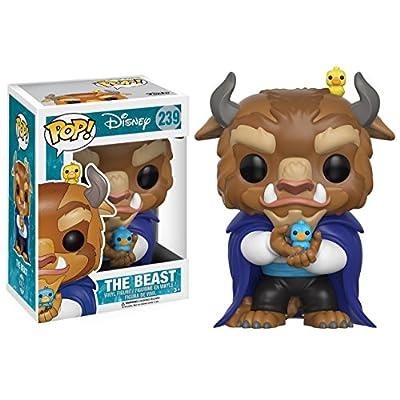 Funko POP Disney: Beauty & The Beast-Winter Beast Action Figure: Funko Pop! Disney:: Toys & Games