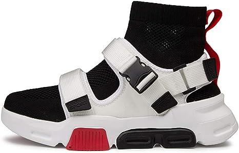 LZLHYH Zapatillas De Hombre, Zapatos para Correr, Zapatos Casuales, De Malla, De Caña Alta, Parte Superior De Punto, De Moda, Adecuado para Deportes, Ocio: Amazon.es: Deportes y aire libre