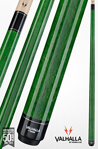 Viking Valhalla by 2 Piece Pool Cue Stick VA105 (19oz, Green) (Pool Cue Outlet)