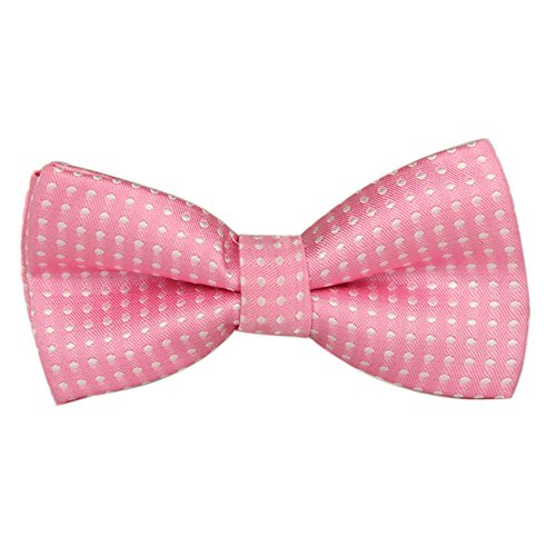 Ainow Boy's Children Solid Color Satin Bow Ties/Bowties -
