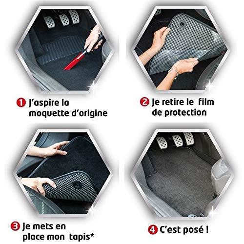 Sur Mesure 3 Pi/èces Gamme Luxe Moquette Haute Qualit/é 1000g//m/² Antid/érapant DBS 1765224 Tapis Auto Tapis de sol pour Voiture Finition Velours