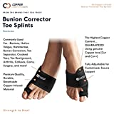 Copper Compression Bunion Corrector Toe