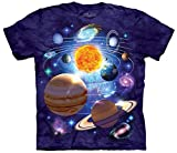 You Are Here Solar System Planets Unisex Adult T-Shirt Tee
