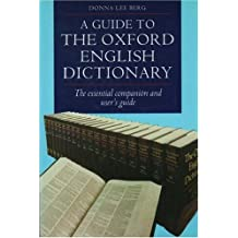 Guide to the Oxford English Dictionary