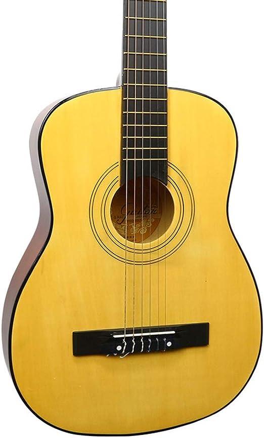 BAIYING-Guitarra Acústica Guitarra Clásica Principiante ...