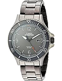 Men's TW4B10800 Expedition Ranger Gray Stainless Steel Bracelet Watch