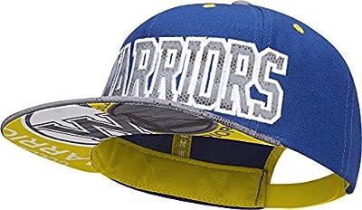 Adidas Originals Golden State Warriors AY6125 Flat Brim Snapback Cap Kappe by Adidas