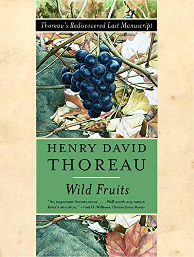 Download Wild Fruits: Thoreau's Rediscovered Last Manuscript PDF
