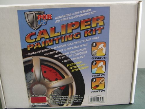 BRAKE CALIPER KIT RED POR 15 COMPLETE CALIPER (Complete Caliper)