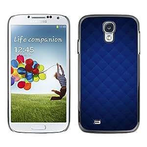 """For Samsung Galaxy S4 , S-type Textura azul"""" - Arte & diseño plástico duro Fundas Cover Cubre Hard Case Cover"""