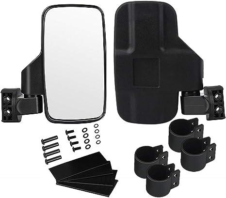 "17/"" Wide Rear View Race Lens Mirror W// 2/"" Clamp for all UTV 2/"" OD Bar-Can AM UTV"