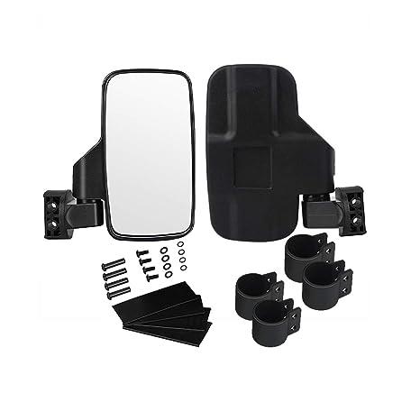 Amazon.com: Espejo retrovisor UTV lateral con jaula de barra ...