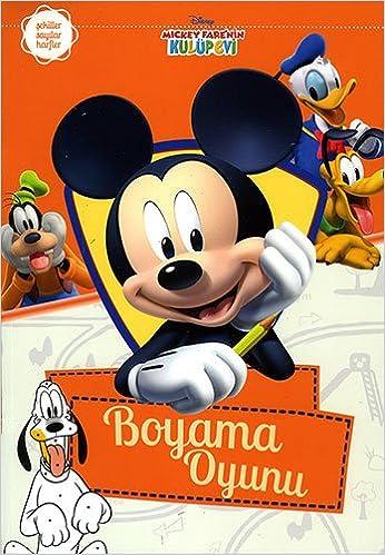 Mickey Farenin Kulup Evi Boyama Oyunu Kollektif 9786050941968