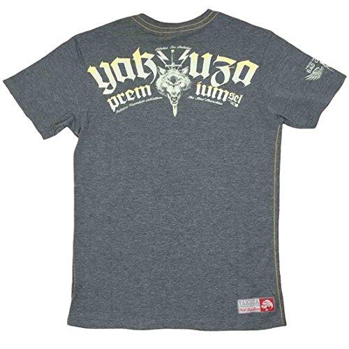 Yakuza Premium T-Shirt 2205 grau