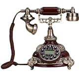 FADACAI Home Landline Phone Retro Creative Telephones Classical Phone , a