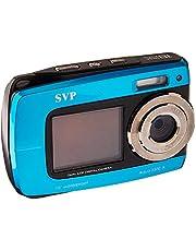 SVP Aqua 5500 (Blue) 18 MP Dual Screen Waterproof Digital Camera