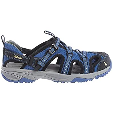 Amazon Com Ahnu Anza Sport Sandal 7 5 B M Us Washed