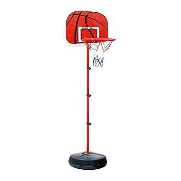 KJRJLQ Sistema de aro de Baloncesto portátil Soporte de Baloncesto ...