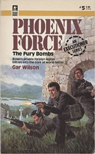The Fury Bombs (Phoenix Force #5)