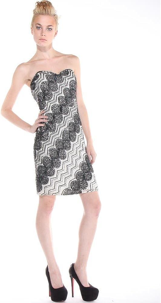 Scala Womens White /& Black N4034 Dress Dresses Mix