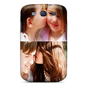 Excellent Design Sweet Kiss Phone Case For Galaxy S3 Premium Tpu Case