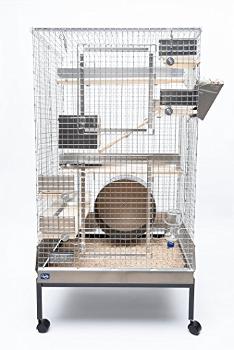 Quality Cage Crafters Chinchilla Mansion Chinchilla Cage Kit – Deluxe Package