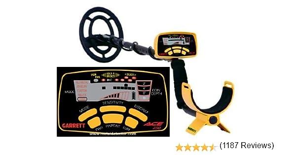 Garrett Ace 250 - Detector de metales: Amazon.es: Electrónica
