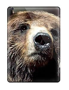 Premium Tpu Brown Bear Wallpaper Cover Skin For Ipad Air