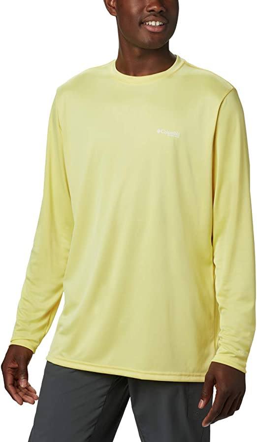 Columbia Mens Terminal Tackle PFG State Triangle Long Sleeve UV Sun Protection Moisture Wicking